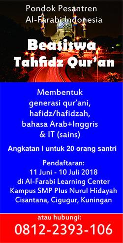 beasiswa al farabi